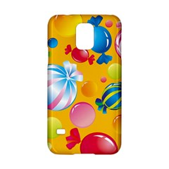 Sweets And Sugar Candies Vector  Samsung Galaxy S5 Hardshell Case