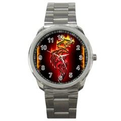 Dragon Fire Sport Metal Watch