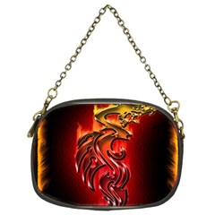 Dragon Fire Chain Purses (Two Sides)