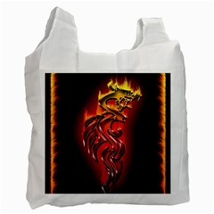 Dragon Fire Recycle Bag (Two Side)