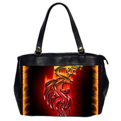 Dragon Fire Office Handbags (2 Sides)