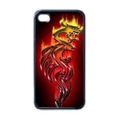 Dragon Fire Apple iPhone 4 Case (Black)