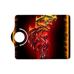 Dragon Fire Kindle Fire HD (2013) Flip 360 Case