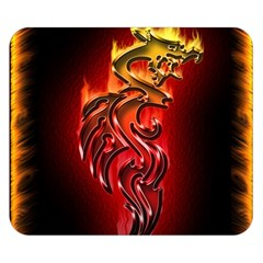 Dragon Fire Double Sided Flano Blanket (Small)