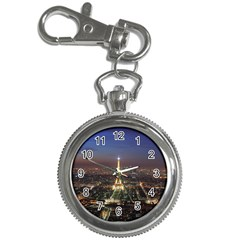 Paris At Night Key Chain Watches