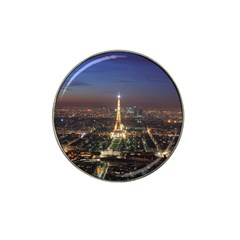 Paris At Night Hat Clip Ball Marker