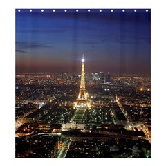 Paris At Night Shower Curtain 66  x 72  (Large)