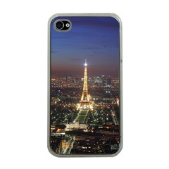 Paris At Night Apple iPhone 4 Case (Clear)