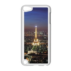 Paris At Night Apple iPod Touch 5 Case (White)