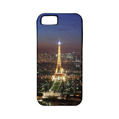 Paris At Night Apple iPhone 5 Classic Hardshell Case (PC+Silicone)