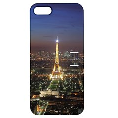 Paris At Night Apple iPhone 5 Hardshell Case with Stand