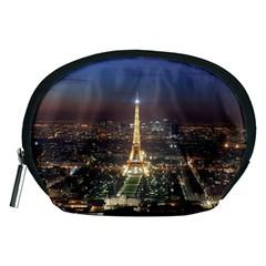 Paris At Night Accessory Pouches (Medium)