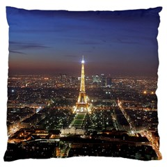 Paris At Night Standard Flano Cushion Case (One Side)