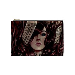 Beautiful Women Fantasy Art Cosmetic Bag (Medium)