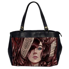 Beautiful Women Fantasy Art Office Handbags (2 Sides)