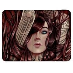 Beautiful Women Fantasy Art Samsung Galaxy Tab 7  P1000 Flip Case