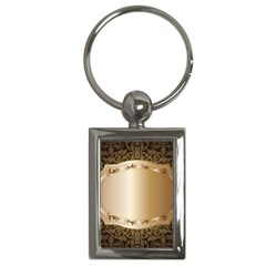 Floral Key Chains (Rectangle)