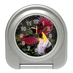 Cendrawasih Beautiful Bird Of Paradise Travel Alarm Clocks