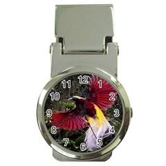Cendrawasih Beautiful Bird Of Paradise Money Clip Watches