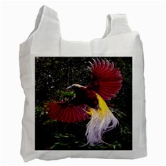 Cendrawasih Beautiful Bird Of Paradise Recycle Bag (One Side)
