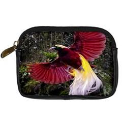 Cendrawasih Beautiful Bird Of Paradise Digital Camera Cases