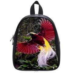 Cendrawasih Beautiful Bird Of Paradise School Bags (Small)