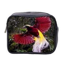 Cendrawasih Beautiful Bird Of Paradise Mini Toiletries Bag 2-Side
