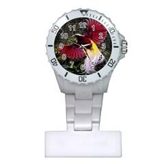 Cendrawasih Beautiful Bird Of Paradise Plastic Nurses Watch