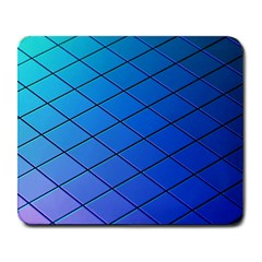 Blue Pattern Plain Cartoon Large Mousepads