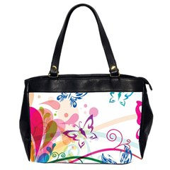Butterfly Vector Art Office Handbags (2 Sides)