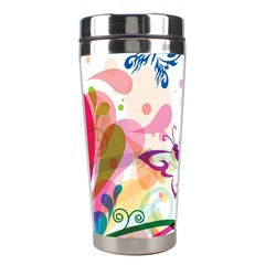 Butterfly Vector Art Stainless Steel Travel Tumblers