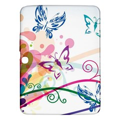 Butterfly Vector Art Samsung Galaxy Tab 3 (10.1 ) P5200 Hardshell Case