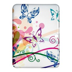 Butterfly Vector Art Samsung Galaxy Tab 4 (10.1 ) Hardshell Case