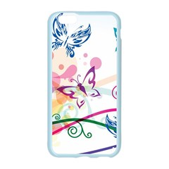 Butterfly Vector Art Apple Seamless iPhone 6/6S Case (Color)