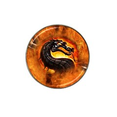 Dragon And Fire Hat Clip Ball Marker (4 pack)