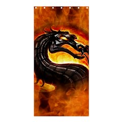 Dragon And Fire Shower Curtain 36  x 72  (Stall)