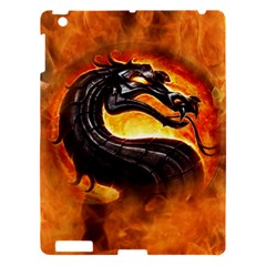 Dragon And Fire Apple iPad 3/4 Hardshell Case