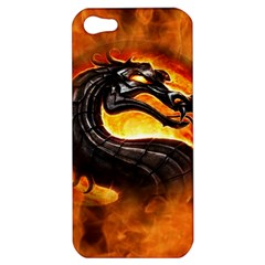 Dragon And Fire Apple iPhone 5 Hardshell Case