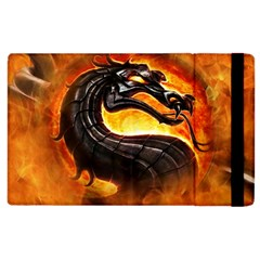 Dragon And Fire Apple iPad 2 Flip Case