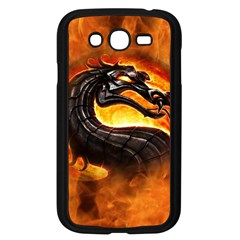 Dragon And Fire Samsung Galaxy Grand DUOS I9082 Case (Black)