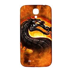 Dragon And Fire Samsung Galaxy S4 I9500/I9505  Hardshell Back Case