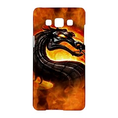 Dragon And Fire Samsung Galaxy A5 Hardshell Case