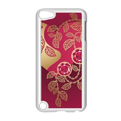 Love Heart Apple iPod Touch 5 Case (White)