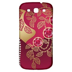 Love Heart Samsung Galaxy S3 S III Classic Hardshell Back Case