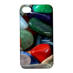 Stones Colors Pattern Pebbles Macro Rocks Apple iPhone 4/4S Hardshell Case with Stand