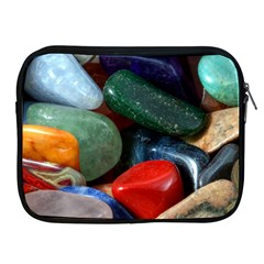 Stones Colors Pattern Pebbles Macro Rocks Apple iPad 2/3/4 Zipper Cases