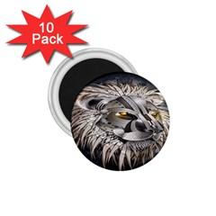 Lion Robot 1.75  Magnets (10 pack)