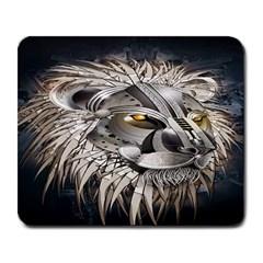 Lion Robot Large Mousepads