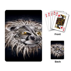 Lion Robot Playing Card