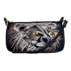 Lion Robot Shoulder Clutch Bags